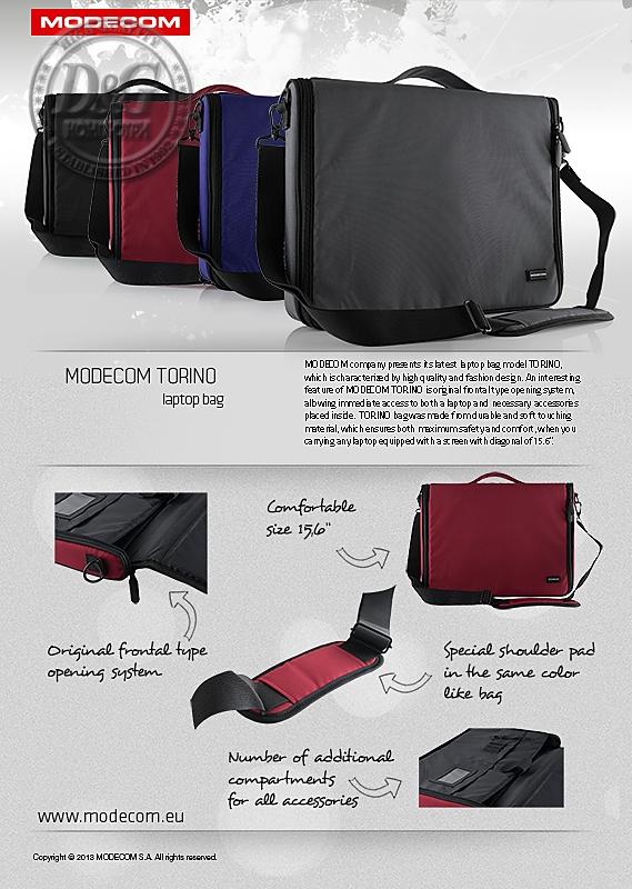 Modecom Laptop Bag Torino 15 c7bef99423